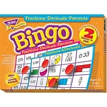 Trend® Fractions Bingo Games