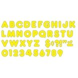 Ready Letters®, Yellow, 3 Casual