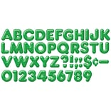 4 Green 3D Casual Ready Letters