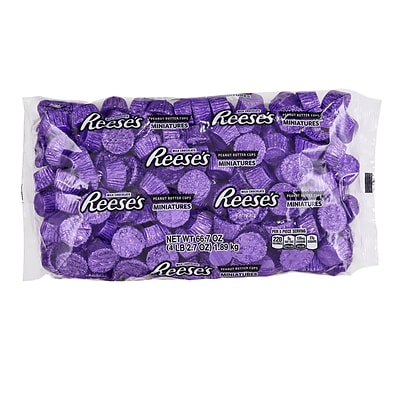 REESES Miniatures, Purple, 66.7 Ounces