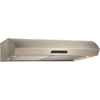 Broan 36'' 300 Cfm Convertible Under Cabinet Range Hood; Stainless Steel