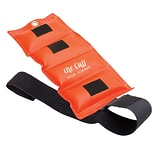 The Deluxe Cuff® Ankle and Wrist Weight; 0.75 lb, Orange