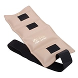 The Deluxe Cuff® Ankle and Wrist Weight; 6 lb, Beige