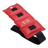 The Deluxe Cuff® Ankle and Wrist Weight; 8 lb, Red
