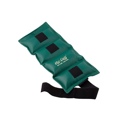 The Deluxe Cuff® Ankle and Wrist Weight; 12.5 lb, Olive