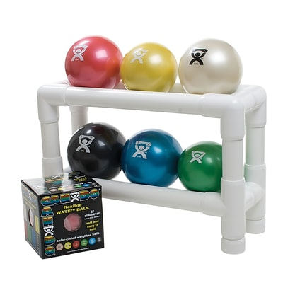 PVC WaTE™ Ball Rack; Accessory, 2-Tier, 6 Ball Rack