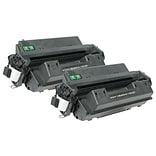 Quill Brand Remanufactured HP 10A Black Standard Laser Toner Cartridge 2/Pack (Q2610A) (100% Satisfa