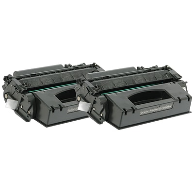 Quill Brand® HP 49 Remanufactured Black Toner Cartridge, High Yield, 2/Pack(Q5949X) (Lifetime Warranty)