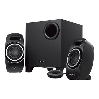 Creative T3250 2.1 Bluetooth Wireless Desktop Speaker System, Black