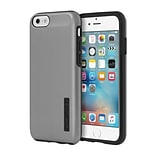 Incipio® DualPro SHINE Dual Layer Protective Case for iPhone 6/6s, Gunmetal/Black (IPH1180GMTLBLK)