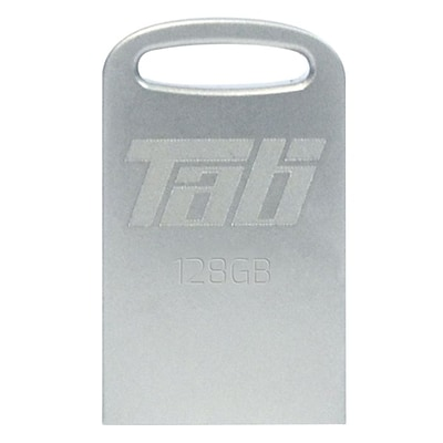 Patriot™ Tab 128GB USB 3.0 Flash Drive, Silver (PSF128GTAB3USB)