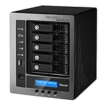 Thecus® W5810 4GB Intel Celeron J1900 Quad Core 2.42 GHz 60GB SAN/NAS Server