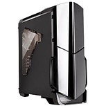 Thermaltake® Versa N21 Window Mid-Tower Computer Chassis, Black (CA1D900M1WN00)