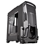 Thermaltake® Versa N24 Mid-Tower Computer Chassis, Black (CA1G100M1WN00)