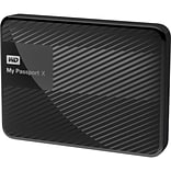 WD® My Passport X™ 3TB Portable Hard Drive (WDBCRM0030BBK)