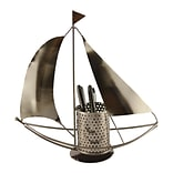 Wine Bodies Sail Boat Pen Holder