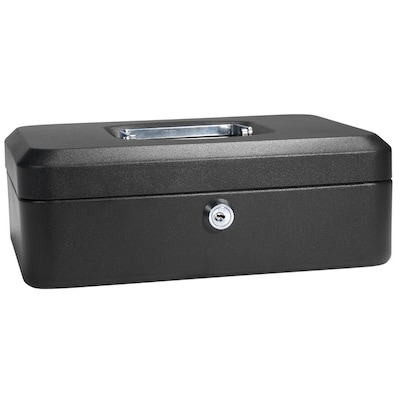 Barska Medium Black Cash Box w/ Key