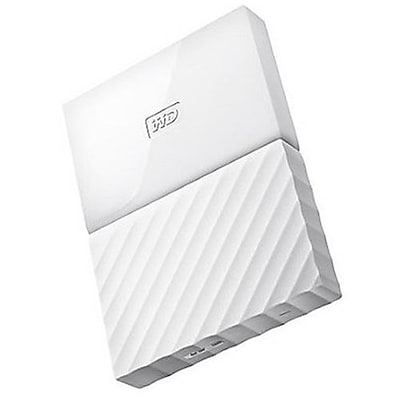 WD® My Passport 4TB Portable External Hard Drive, White (WDBYFT0040BWT-WESN)