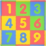 Tadpoles Numbers 9 Piece Playmat Set