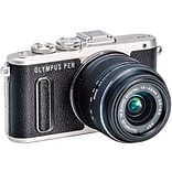 Olympus® Pen E-Pl8 16.1 Mp Mirrorless Digital Camera; 3X, 14 Mm - 42 Mm, Black