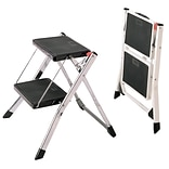 Polder Products LLC 2-Step Steel Step Stool w/ 225 lb. Load Capacity