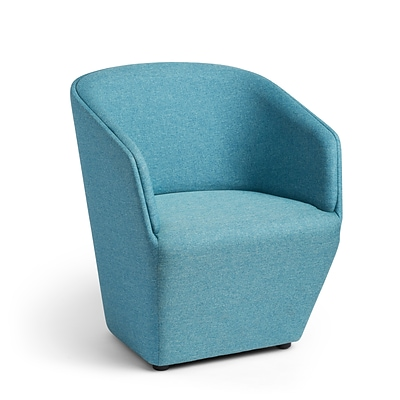 Poppin, Blue, Pitch Club Chair (103612)