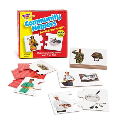 Trend® Fun-To-Know® Early Childhood Puzzles, Community Helpers