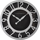 First Time® 8 Black Radiant Wall Clock