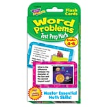 Test Prep Math Word Problems, Grades 4-6 Challenge Cards®