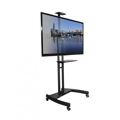 Kanto MTM65PL Mobile TV Mount with Adjustable Shelf for 37 to 65 TVs