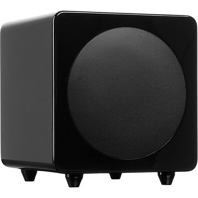 Kanto SUB8 8 240Watt Powered Subwoofer, Gloss Black