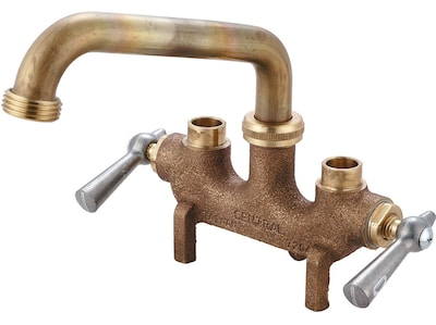 Central Brass Double Handle Laundry Faucet