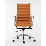 Winport Industries High-Back Executive Chair; Camel