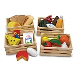 Melissa & Doug® Food Groups Wooden Play Food Set