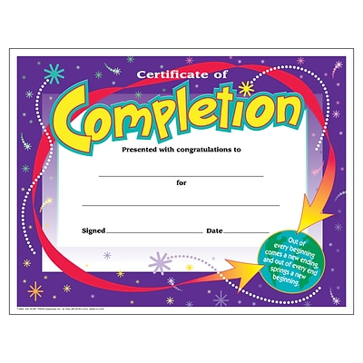 30 ct Inc Preschool Diploma TREND enterprises