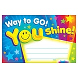 Trend Way to Go! You Shine! Recognition Awards, 30 CT (T-81047)