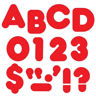 Trend® 2 Ready Letters®, Casual Red