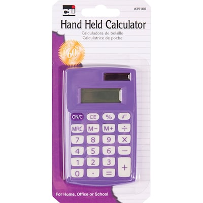 CLI 8 Digit Hand Held Calculator