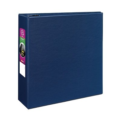 4 Avery® Durable Binder with EZD Rings, Blue