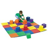 Childrens Factory Joeys Matching Mat and Block Set; Multi-Colored
