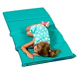 Childrens Factory H/S 4 Fold Infection Control Mat (5 Pack); Teal & Blue
