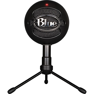 Blue Microphones® Snowball Ice USB Condenser Microphone, Black