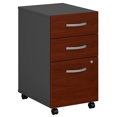 Bush® Westfield Collection in Hansen Cherry Finish, 3-Drawer File, Ready to Assemble