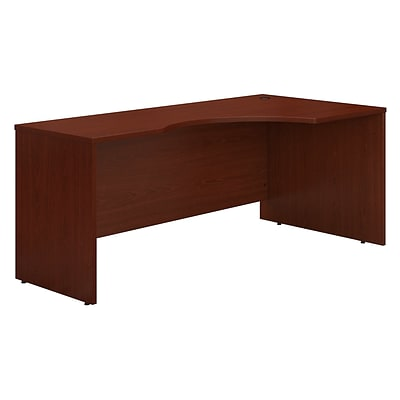 Bush Business Westfield 72W Right Hand Corner Module, Cherry Mahogany, Installed