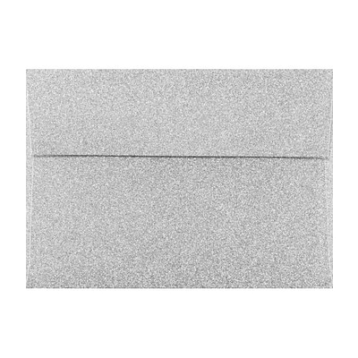 LUX A7 Invitation Envelopes (A7) - Silver Sparkle - Pack of 500 (2445165)