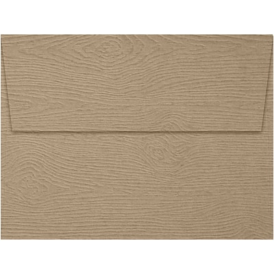 LUX A7 Invitation Envelopes (A7) - Oak Woodgrain - Pack of 500 (2445169)