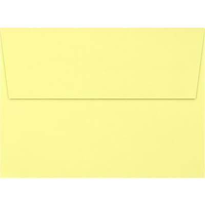 LUX A7 Invitation Envelopes (5 1/4 x 7 1/4) 1000/Box, Lemonade (EX4880-15-1000)