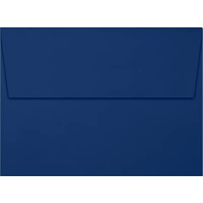 LUX A7 Invitation Envelopes (5 1/4 x 7 1/4) 50/Box, Navy (LUX-4880-103-50)