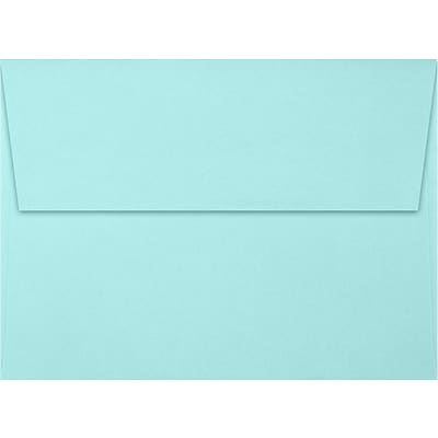 LUX A7 Invitation Envelopes (5 1/4 x 7 1/4) 500/Box, Seafoam (LUX-4880-113500)
