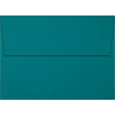 LUX A7 Invitation Envelopes (5 1/4 x 7 1/4) 1000/Box, Teal (EX4880-25-1000)